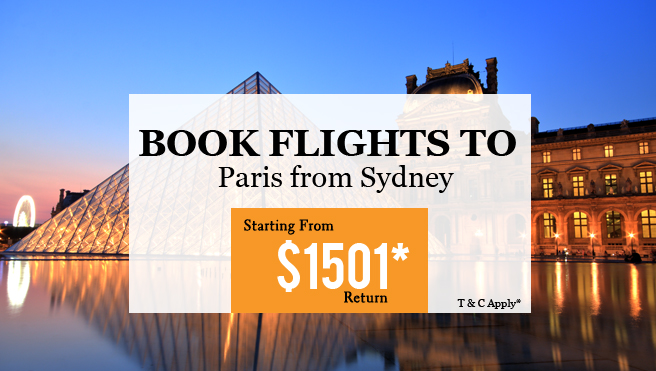 Best flight deal for Paris